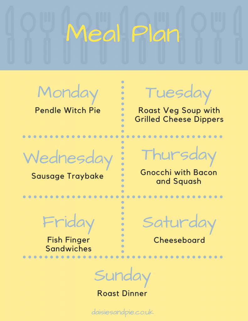 Weekly family meal plan filled with easy to make delicious family dinner recipes, homemaking tips