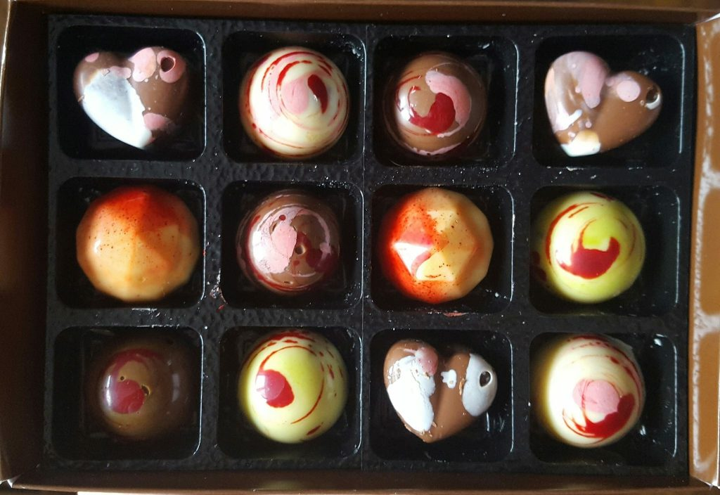 Handmade Chocolates from Luisco Chocolate Shop Haigh Kitchen Courtyard Haigh Woodland Park Wigan, Independent Retailers North West, Food Retailers Manchester,
