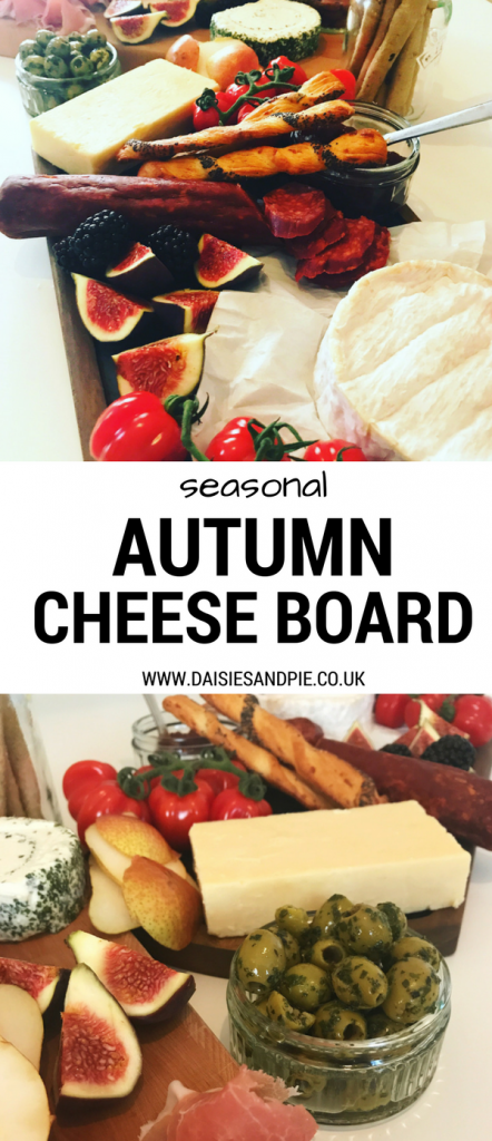 Put together the perfect autumn cheeseboard, easy fall dinner idea, easy dinner for entertaining