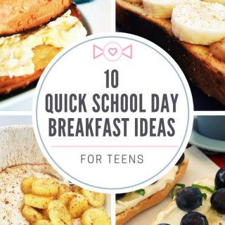 Ten quick breakfast ideas for teenagers