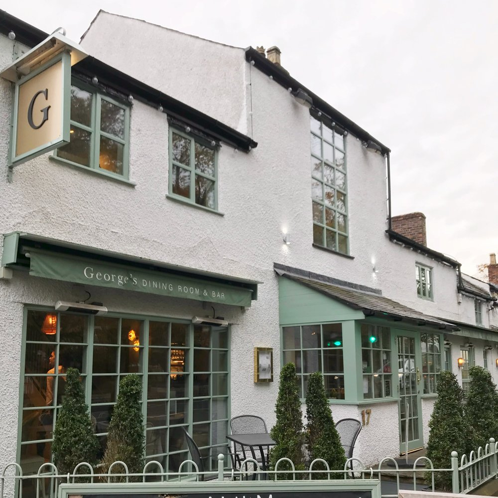 George's Worsley, Places to Eat Manchester, Cafe Bar Worsley, Where to eat brunch Manchester, Ryan Giggs restaurant Worsely