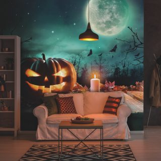 Halloween wall mural from Wallsource, awesome halloween decorations