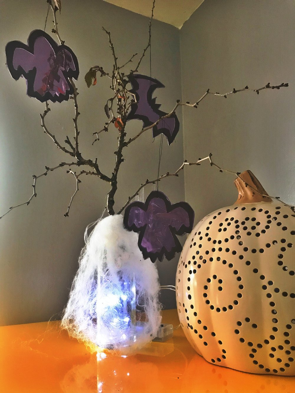 How to make a Halloween Tree, Halloween ideas for kids
