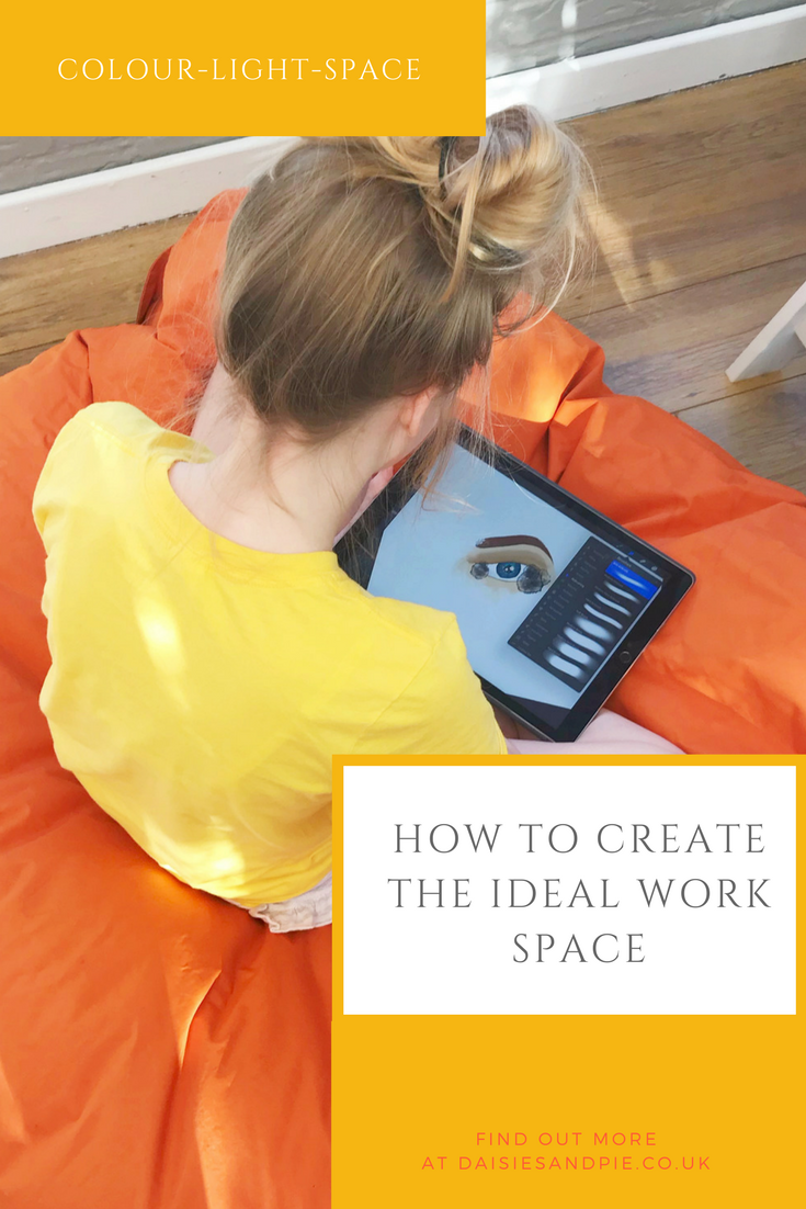 How to create the ideal work space, office interior ideas, making a creative work space