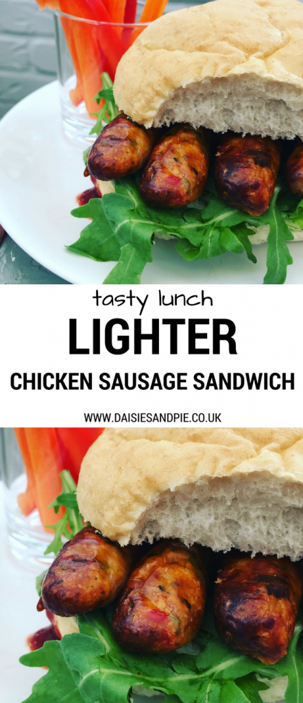 Healthy sausage sandwich recipe, chicken sausage sandwich recipe, healthy sausage recipes, easy lunch ideas, packed lunch recipes