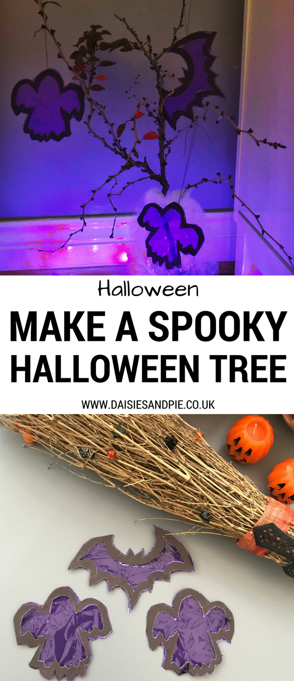 How to make a spooky Halloween Tree, Halloween ideas for kids, Halloween crafts