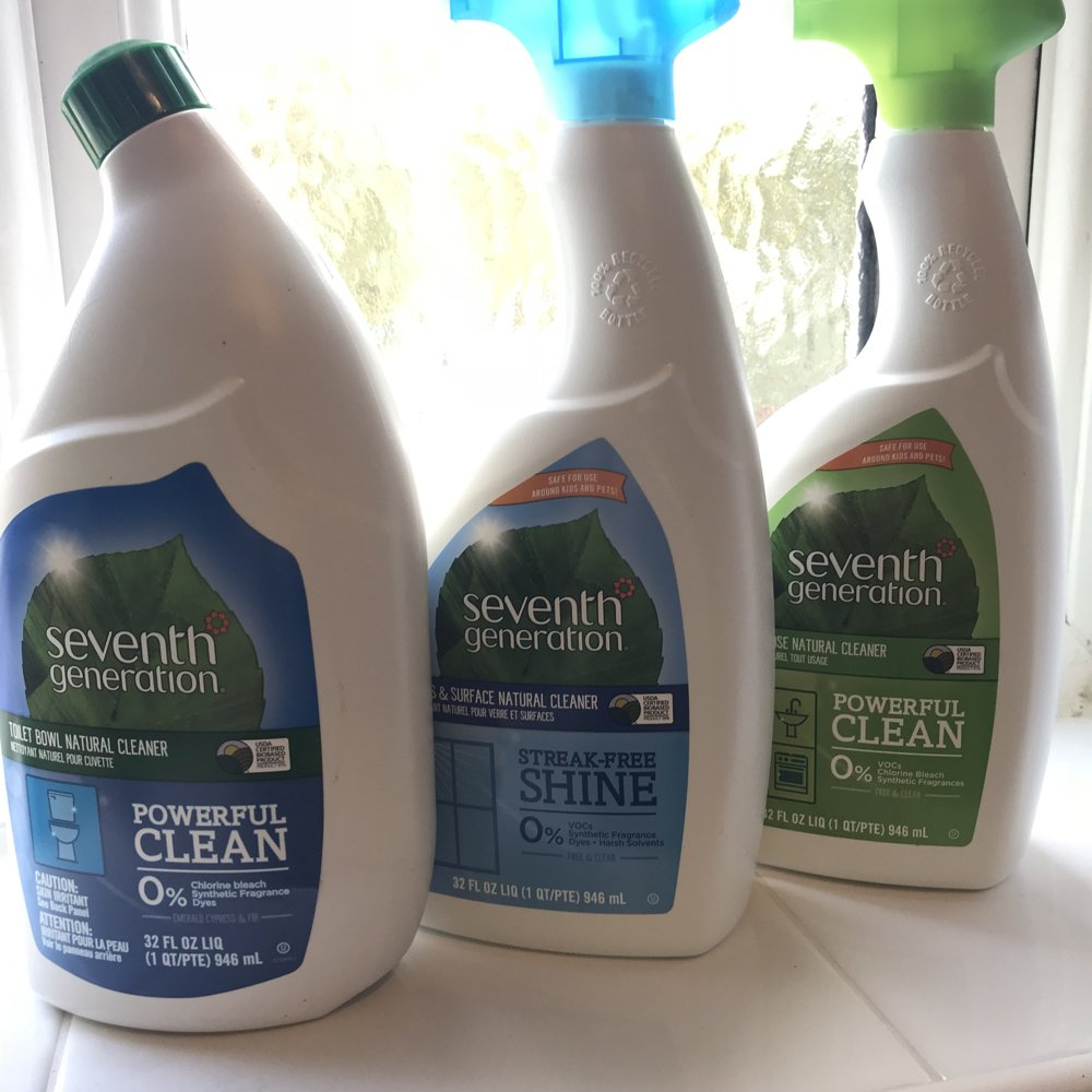 seventh generation bathroom cleaning products review UK, green cleaning tips