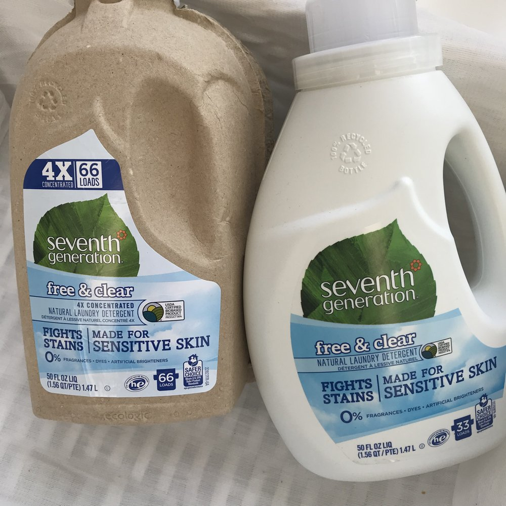 seventh generation laundry liquid review UK