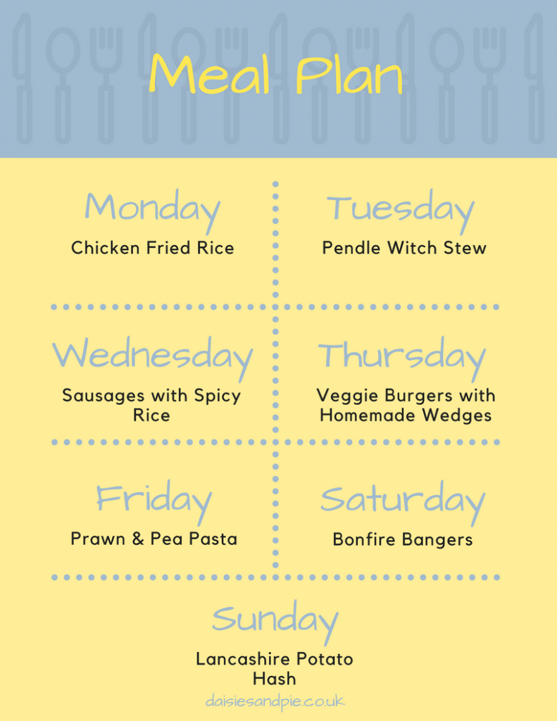 Weekly family meal plan filled with delicious easy to make family dinner recipes, easy family food, printable meal plans