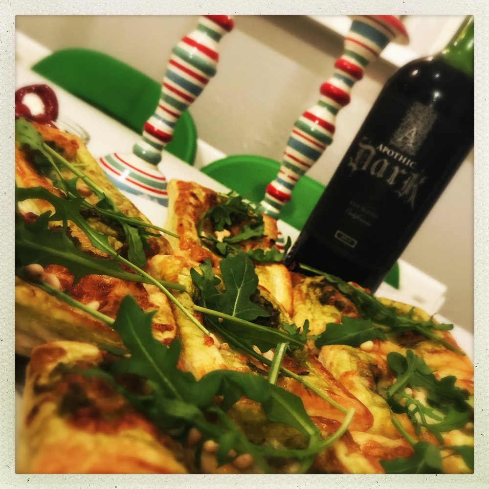 Apothic Dark red wine review, Italian appetisers for Christmas parties