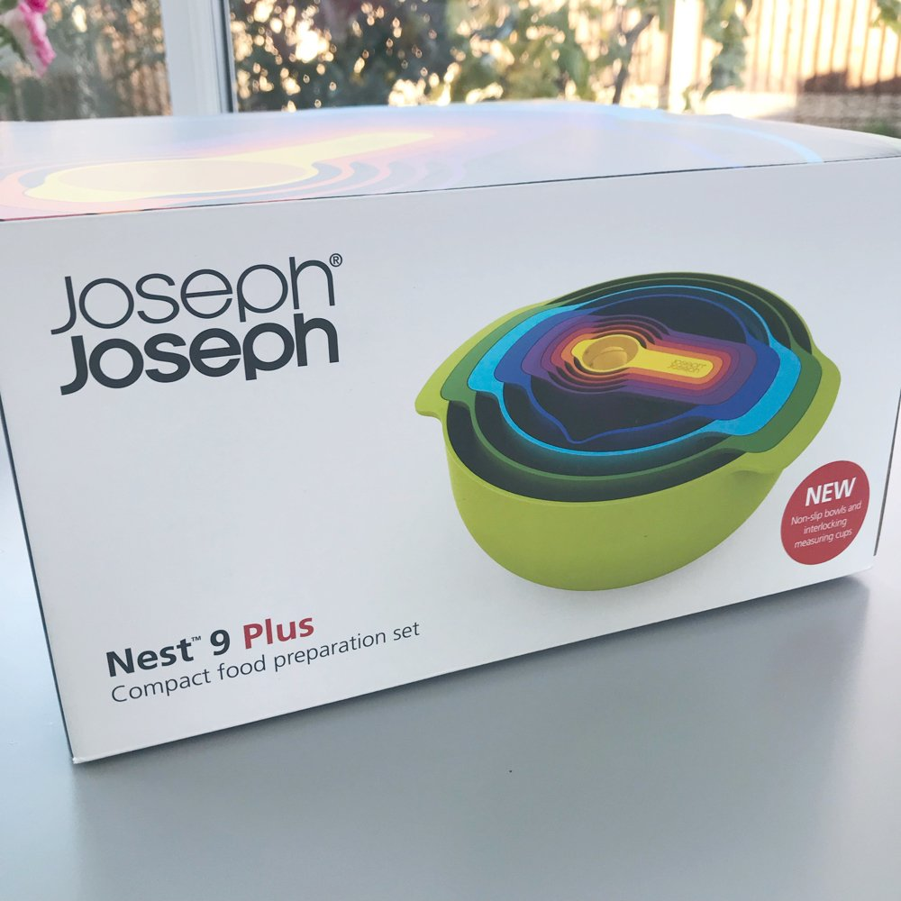 Joseph Joseph nesting bowl review, space saving kitchen gadgets, kitchen organisation ideas