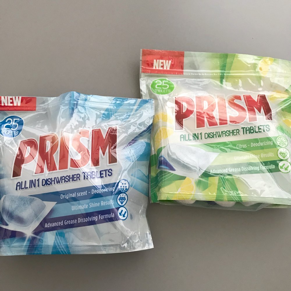 Prism Dishwasher Tablet Review