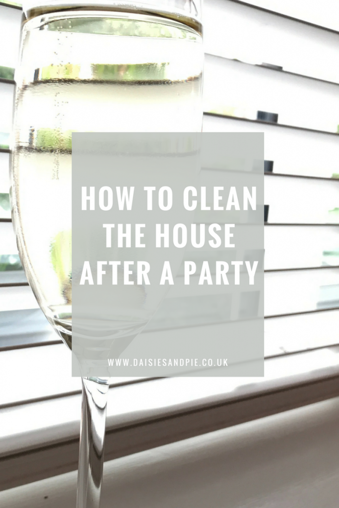 How to clean the house after a party, home cleaning tips, homemaking tips