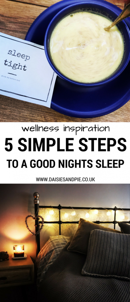 How to get a better nights sleep with these 5 simple steps, health and wellness inspiration for busy mamas