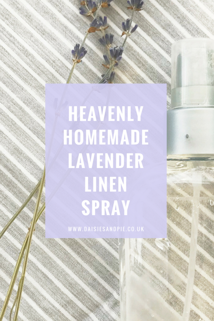 Heavenly homemade lavender linen spray, beautiful natural homemaking tips