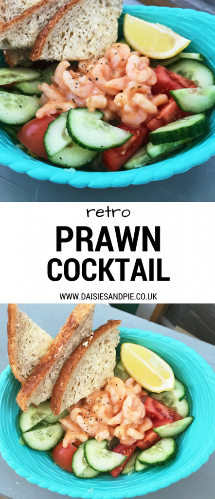 Throw together a retro prawn cocktail perfect for Christmas dinner starter with a blast of 70s glamour, easy prawn recipes