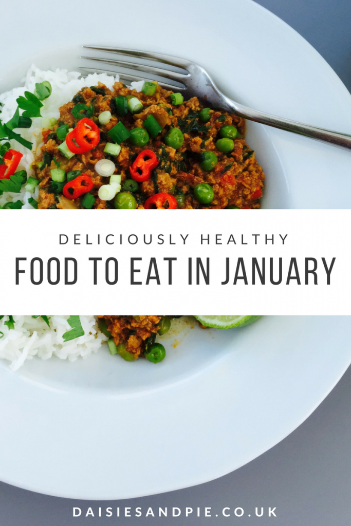 Deliciously healthy meal ideas for January, great if your new year resolution is to eat healthily