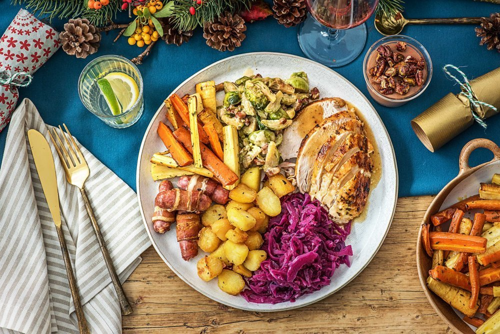 Christmas Dinner Cheats and Recipes from Hello Fresh #ad