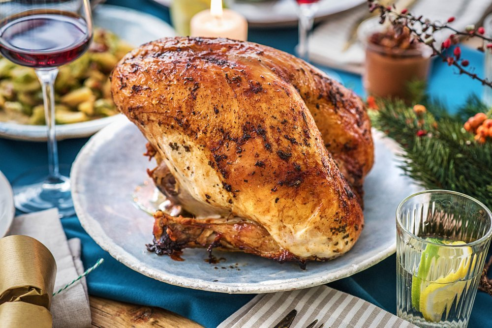 How to cook Christmas turkey, Hello Fresh #ad
