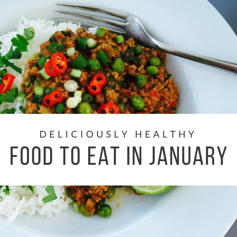 deliciously healthy food to eat this january
