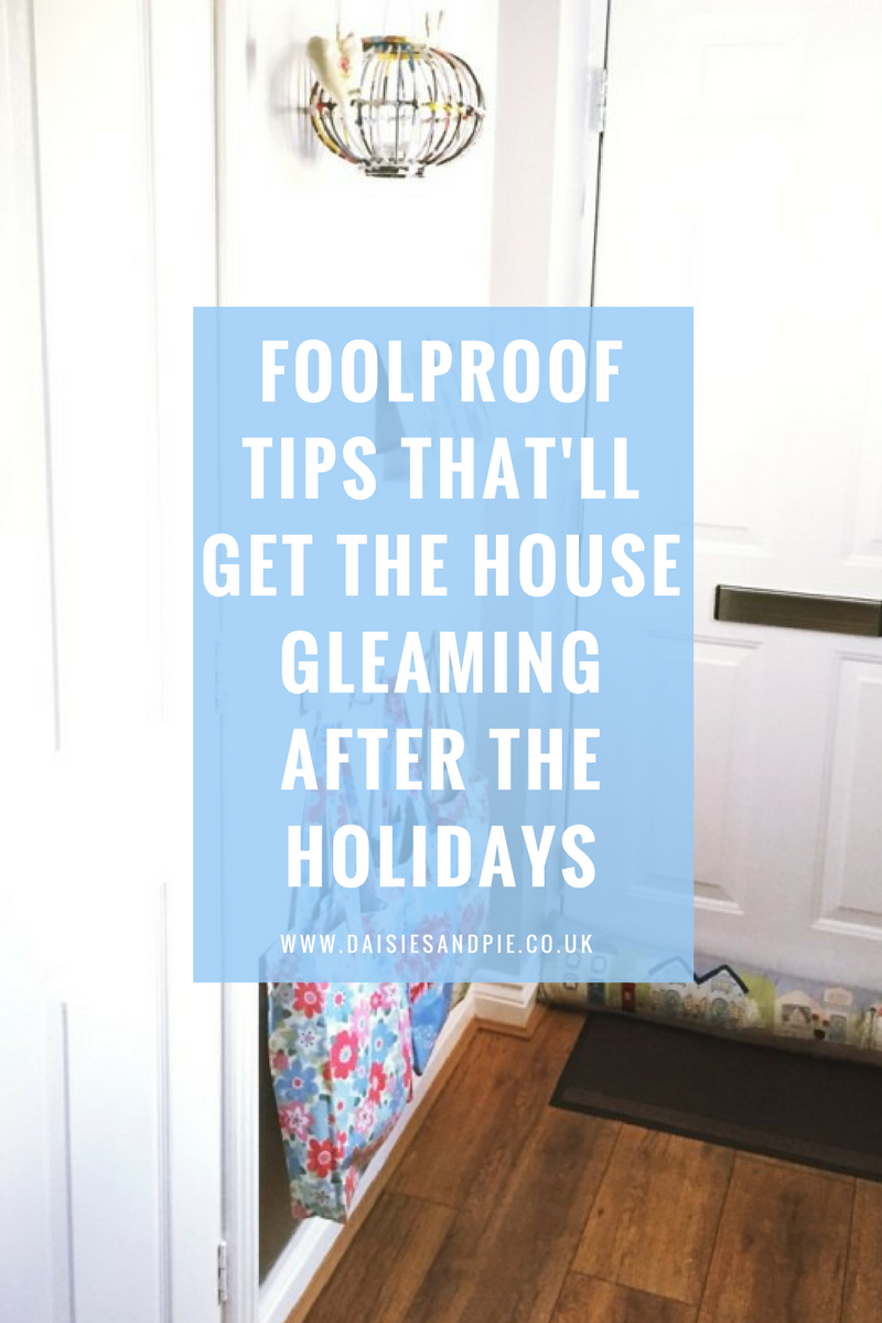 Foolproof tips that'll get the house gleaming after the Christmas holidays, cleaning up after the school holidays is a piece of cake with our simple cleaning routine