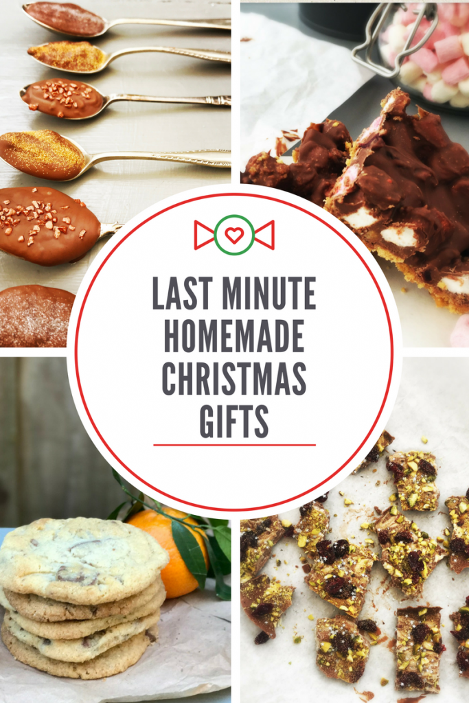 Last minute homemade edible gift ideas, delicious festive recipes that are perfect for gifting
