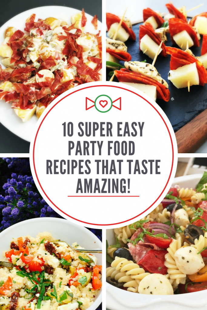 10 Super easy party food recipes that taste amazing, Christmas party food ideas
