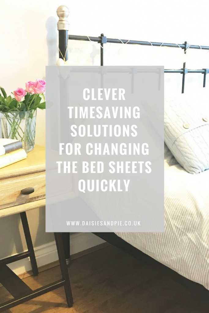 Clever timesaving solutions for changing the bed sheets quickly, homemaking tips that really work