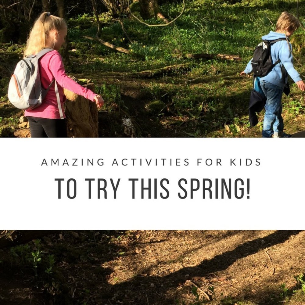 Amazing activities for kids to try this spring, spring bucket list fun