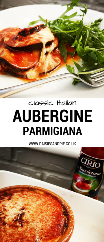 Classic aubergine parmigiana recipe, easy vegetarian dinner ideas