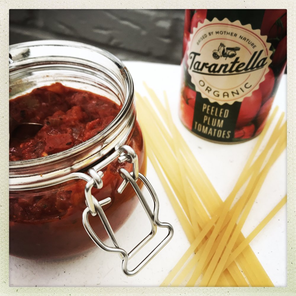 Super simple delicious Italian meatball sauce, cook up your own pasta sauce packed with goodness and bursting with flavour