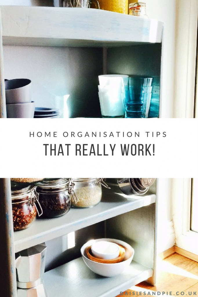 Get to grips with home organisation once and for all with organisation tips that really work!
