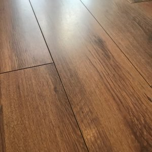close up of laminate floor which has been cleaned with ADDIS spray mop and lemon flash