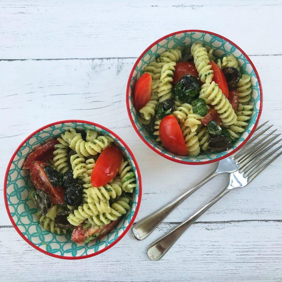 Super Easy Pasta Pesto