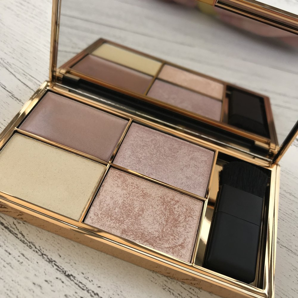 sleek solstice highlighter palette open showing the coloured highlighter