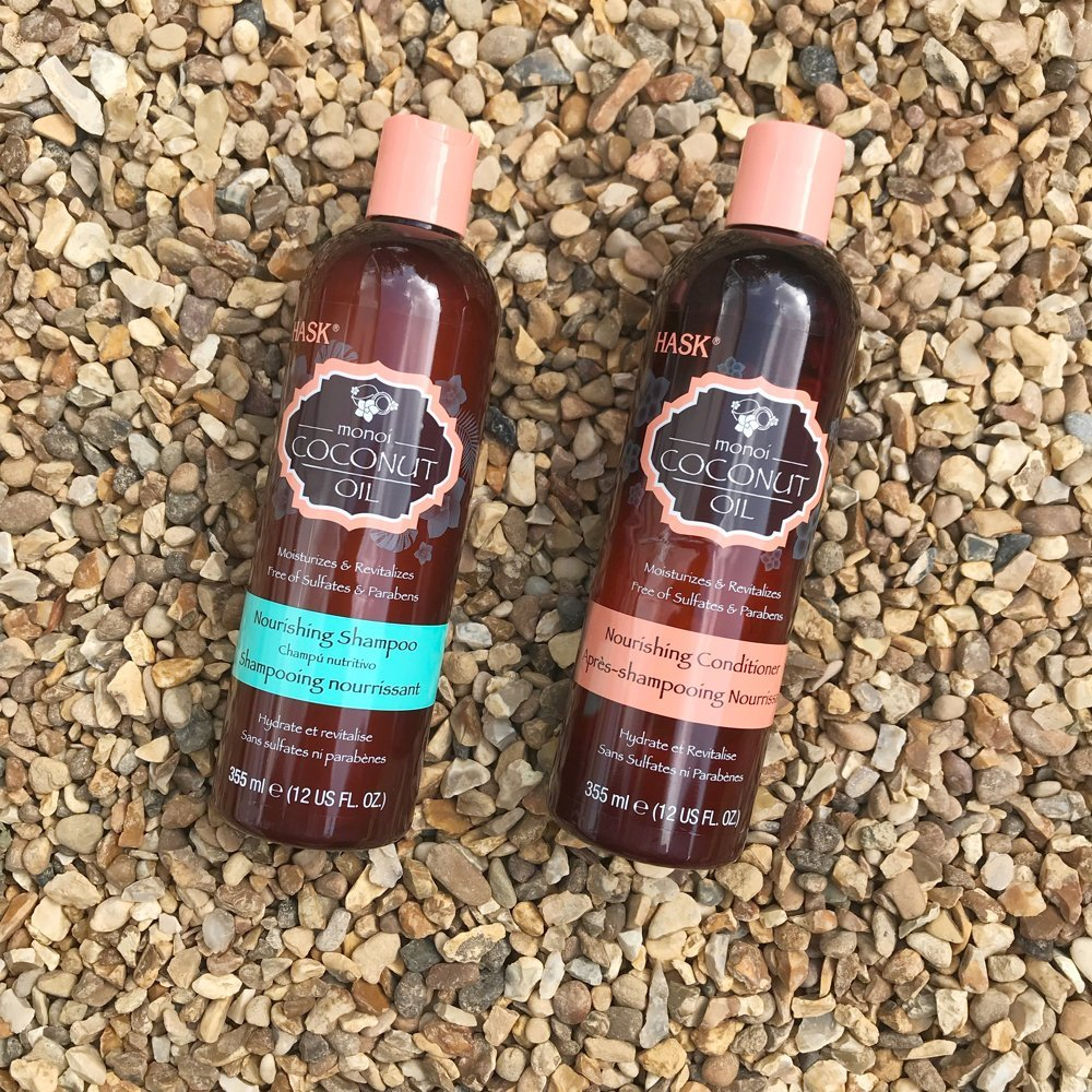 HASK nourishing coconut shampoo and conditioner