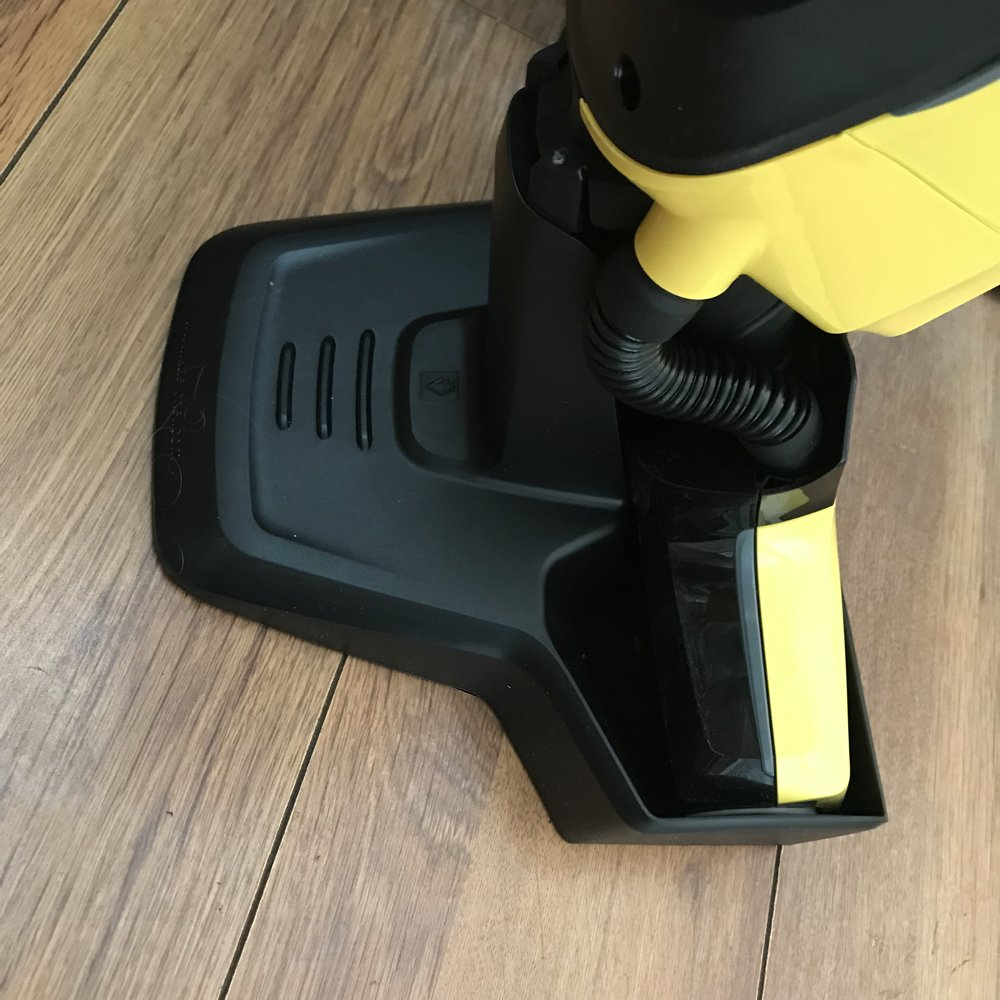 Storage and roller cleaning unit of the Karcher FC5 hard floor cleaner