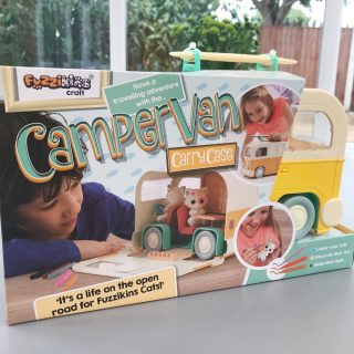 Fuzzikins Campervan craft set
