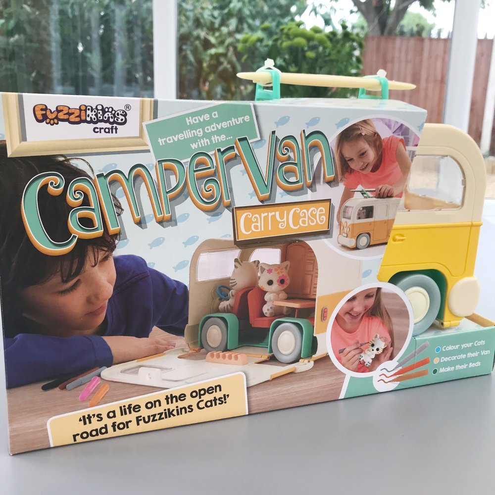 Fuzzikins Campervan Carry Case Giveaway