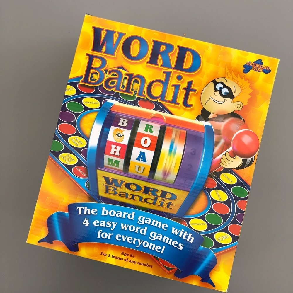 word bandit board game