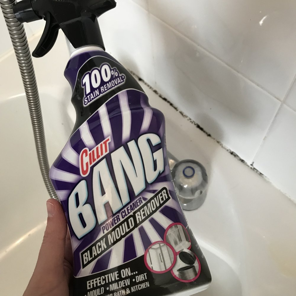 How I Clean Black Mould Off Sealant