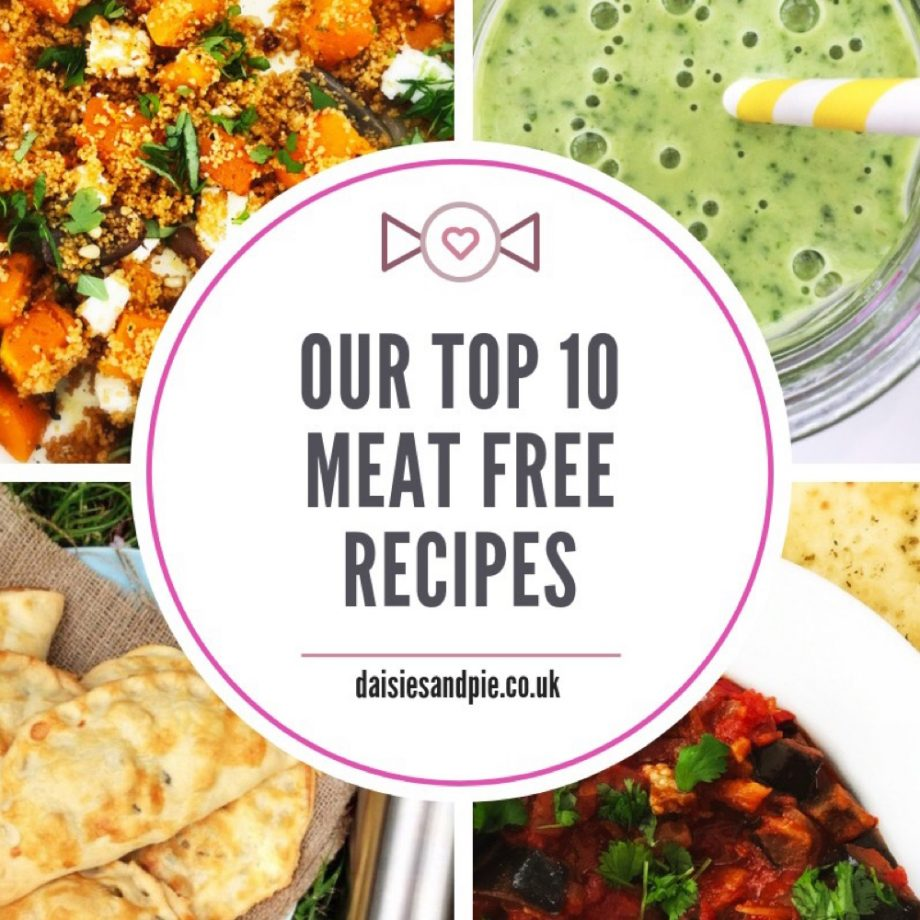 Our top 10 delicious meat free recipes