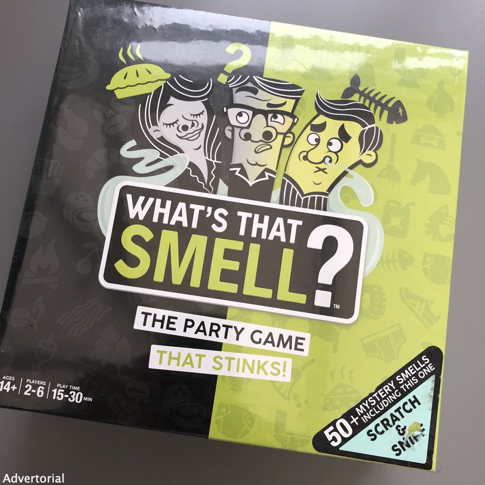 what's that smell board game