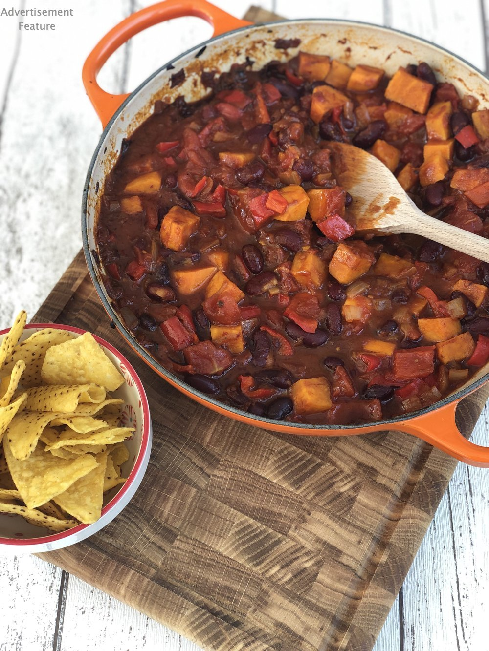 Vegan Chipotle Sweet Potato Chilli