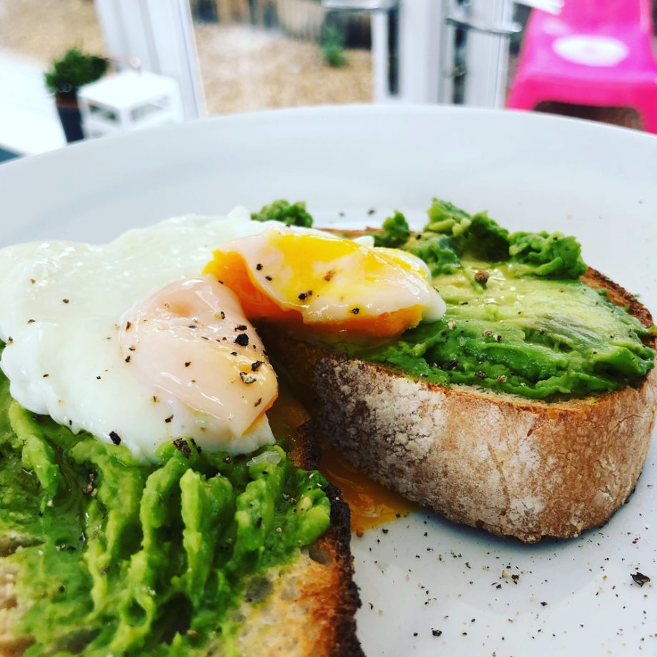 Perfect Poached Egg on Avocado Toast