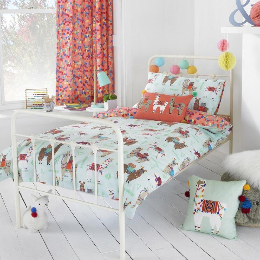 Llamarmama Kids Bedding from Terry's Fabrics