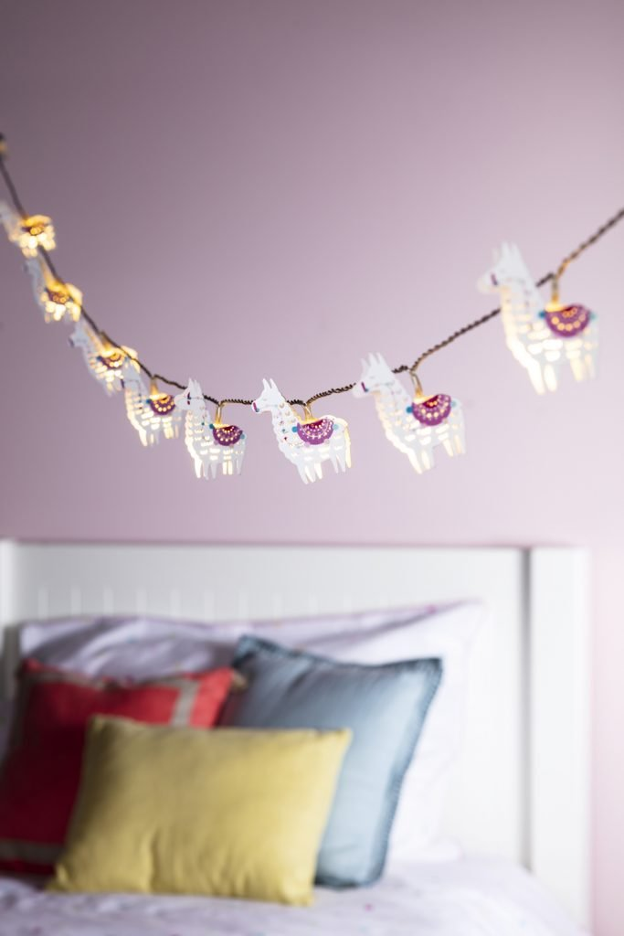 llama fairy lights from lights4fun