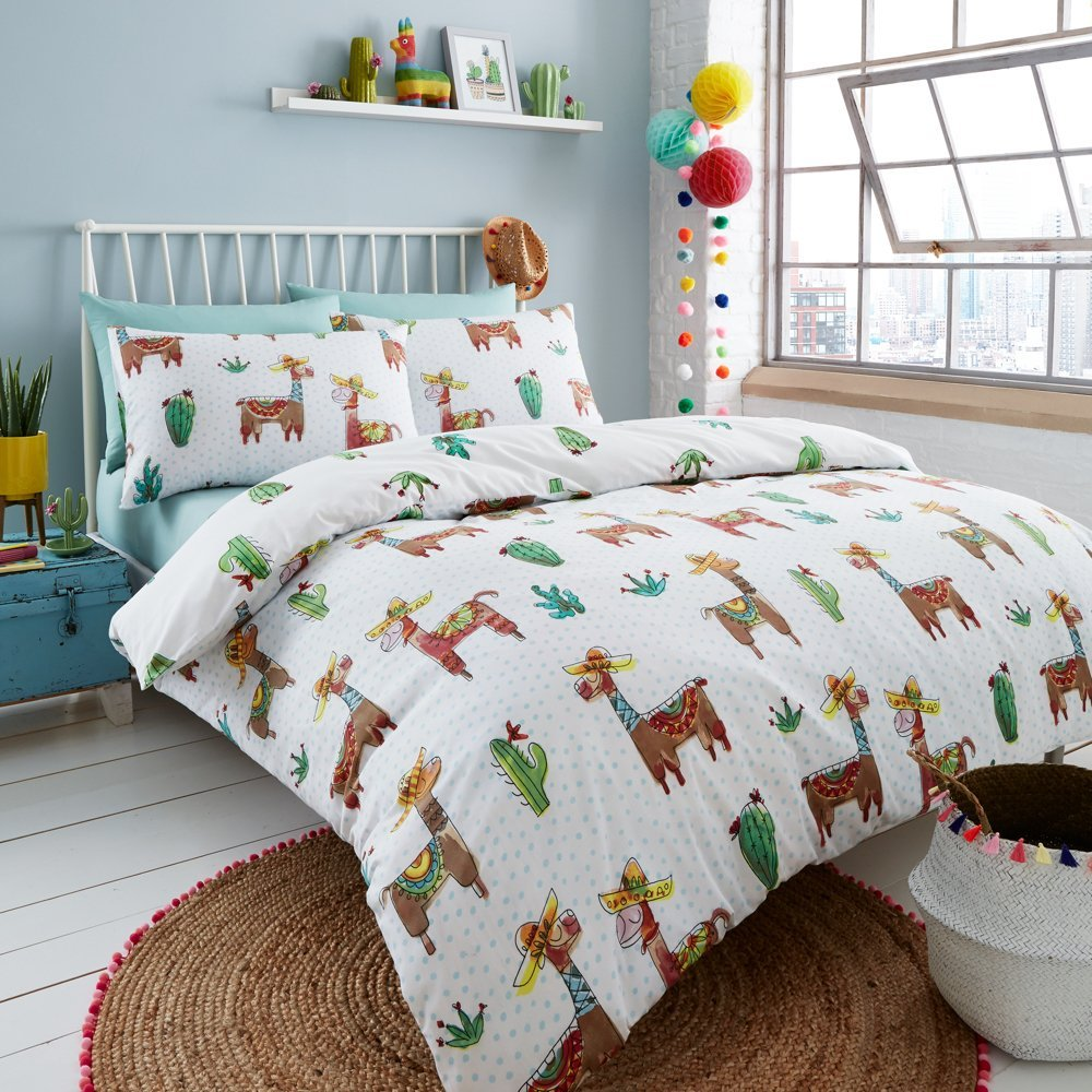 Lllama Mexicana Bedding Happy Linen Company