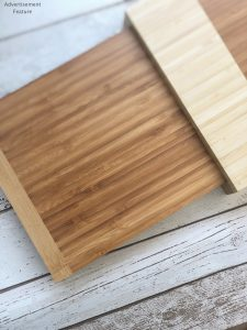 3 Tier Bamboo cheeseboard with knives from VonShef
