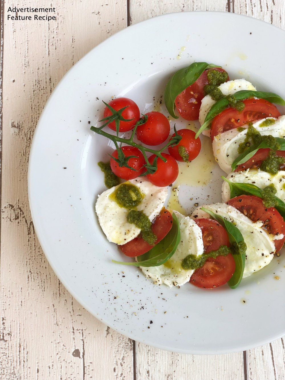 Caprese Salad with Ciao Gusto
